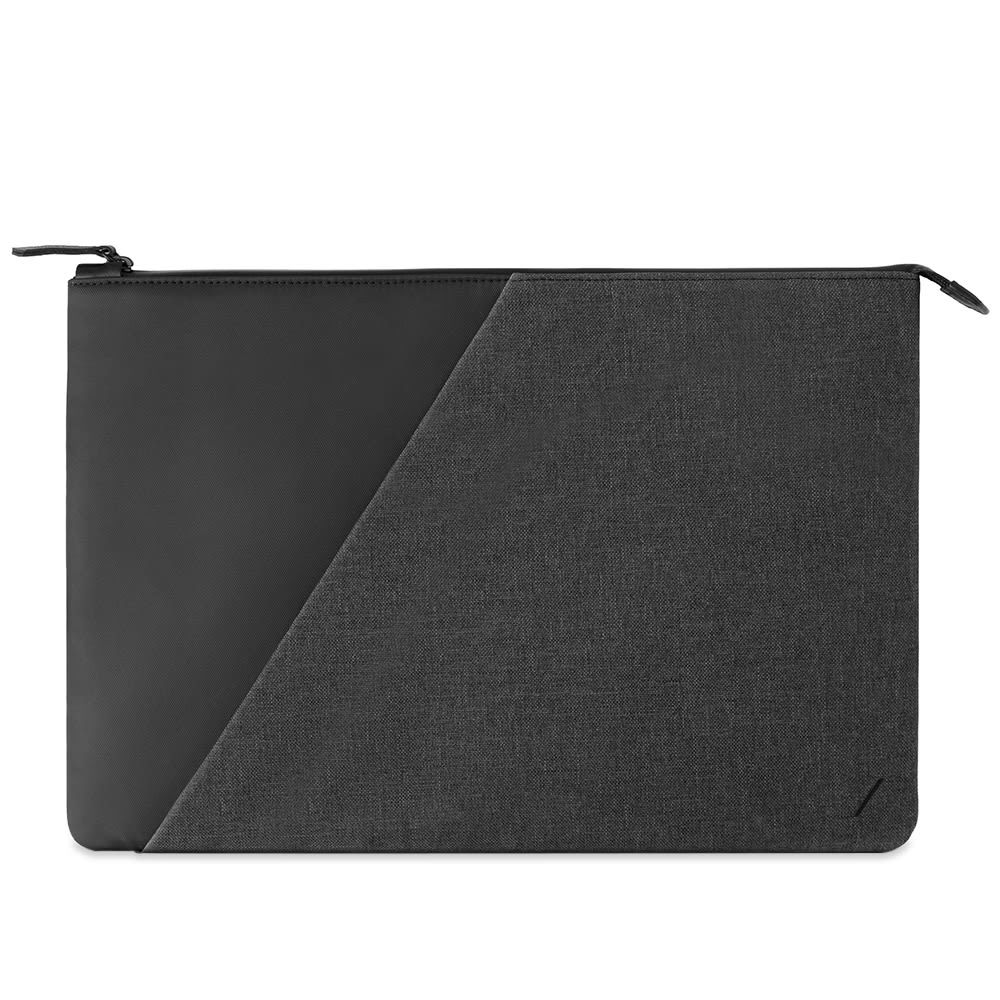 Photo: Native Union Stow Macbook Case Fabric Slate 15""