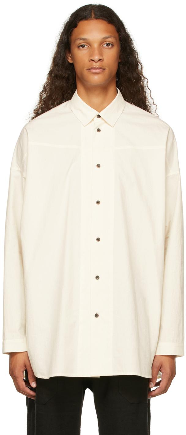 Photo: Jan-Jan Van Essche Off-White Poplin #85 Shirt