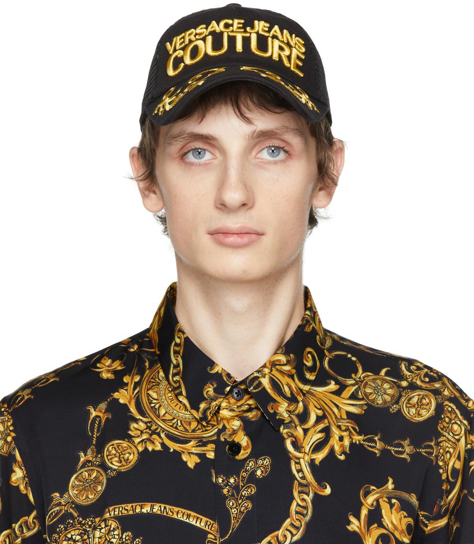 Photo: Versace Jeans Couture Black Regalia Baroque Baseball Cap