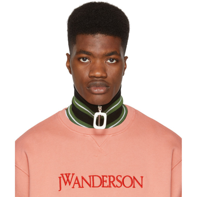 Photo: JW Anderson Green Thick Stripe Neck Band