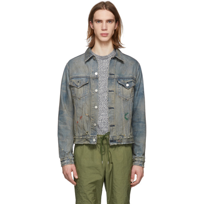 Photo: John Elliott Blue Denim Terrain Jacket
