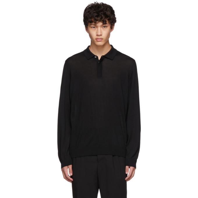 Photo: Boss Black Silk T-Eberto Knitted Polo