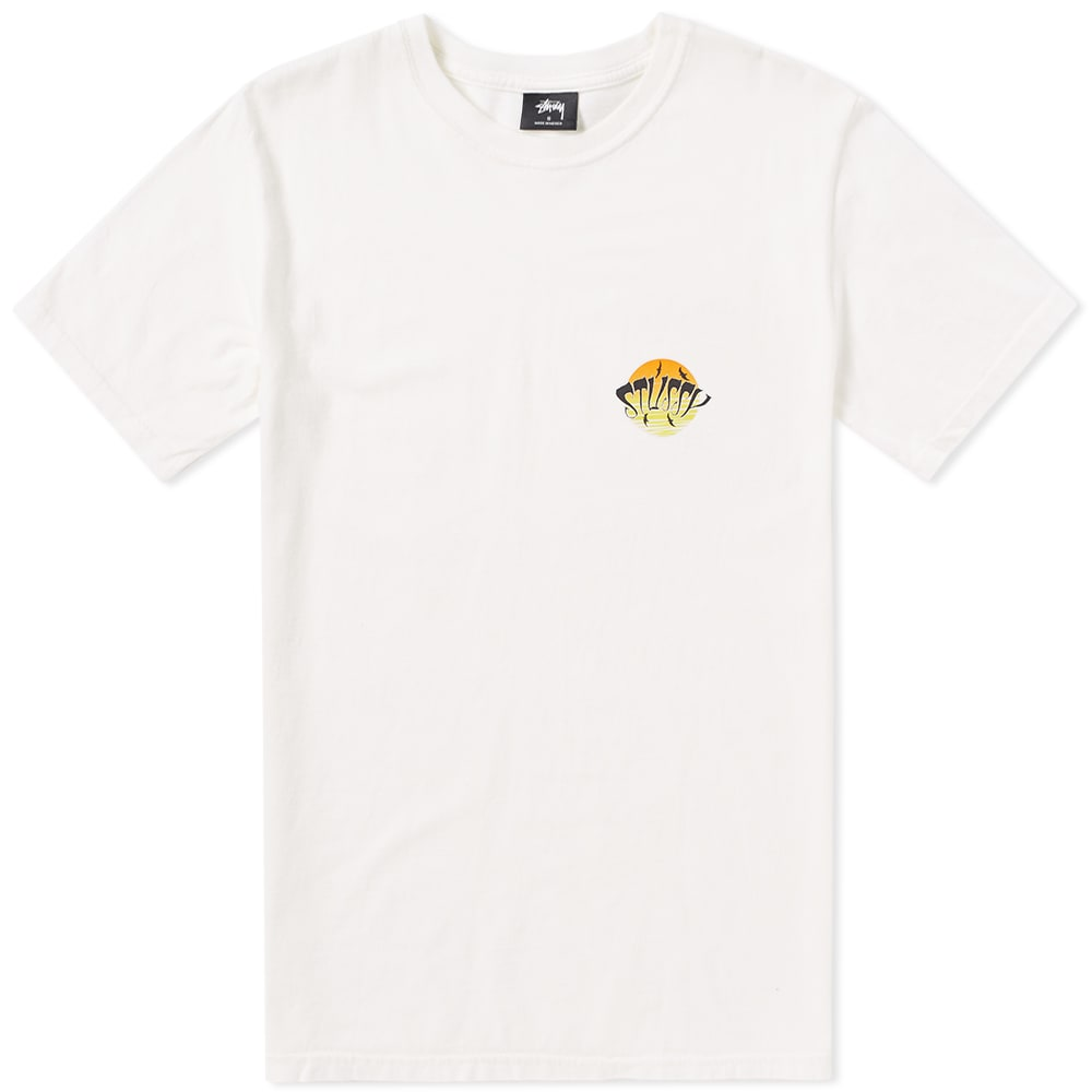 Photo: Stussy LSD Sunset Pigment Dyed Tee