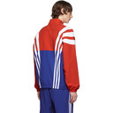 adidas Originals Red and Blue BLNT 96 Track Jacket