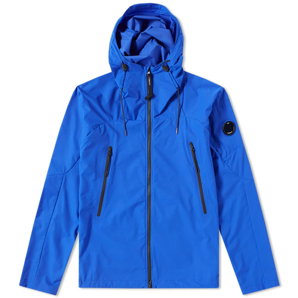 C.P. Company Pro-Tek Arm Lens Shell Jacket Blue