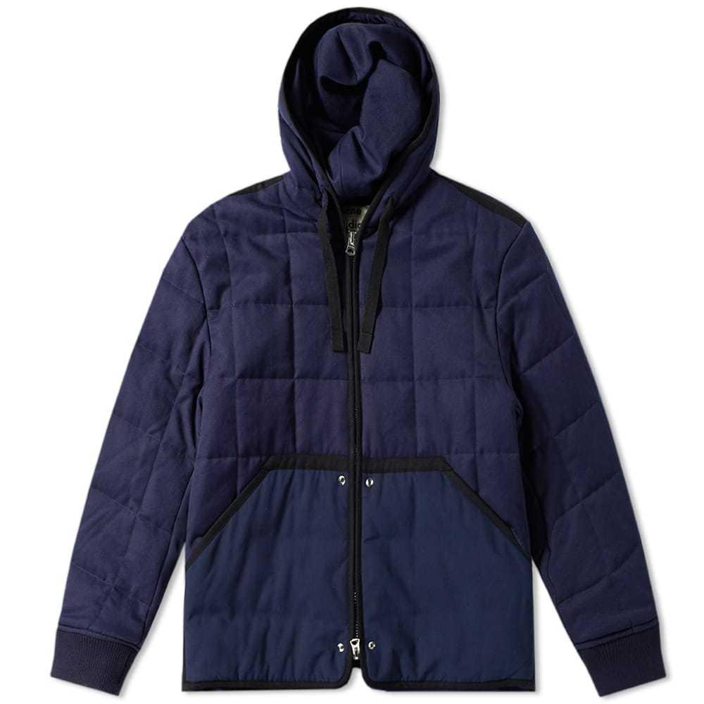 Acne Studios Quilted Jacket Dark Blue