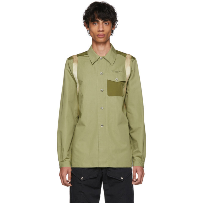 Photo: Givenchy Green Army Shirt