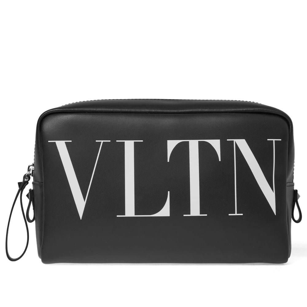 Photo: Valentino Leather Wash Bag