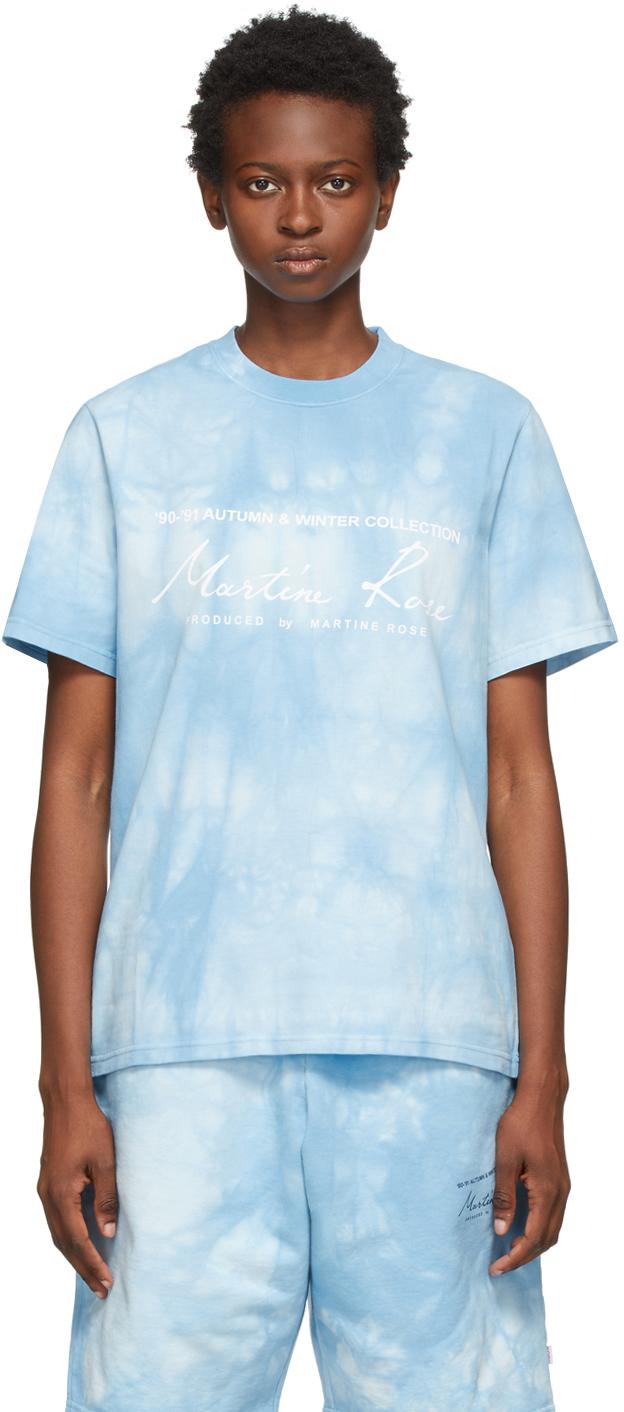 Photo: Martine Rose Blue Dye Classic T-Shirt