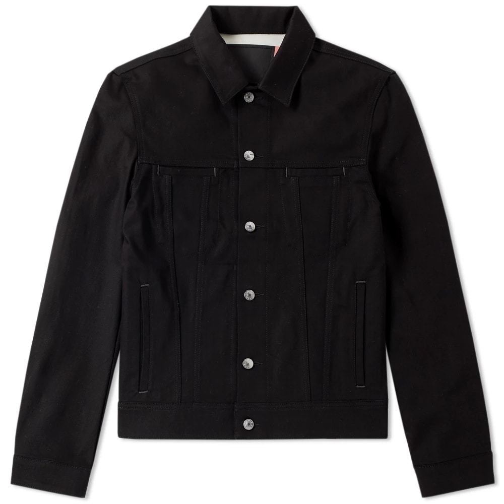 Photo: Acne Studios Pass Denim Jacket Black