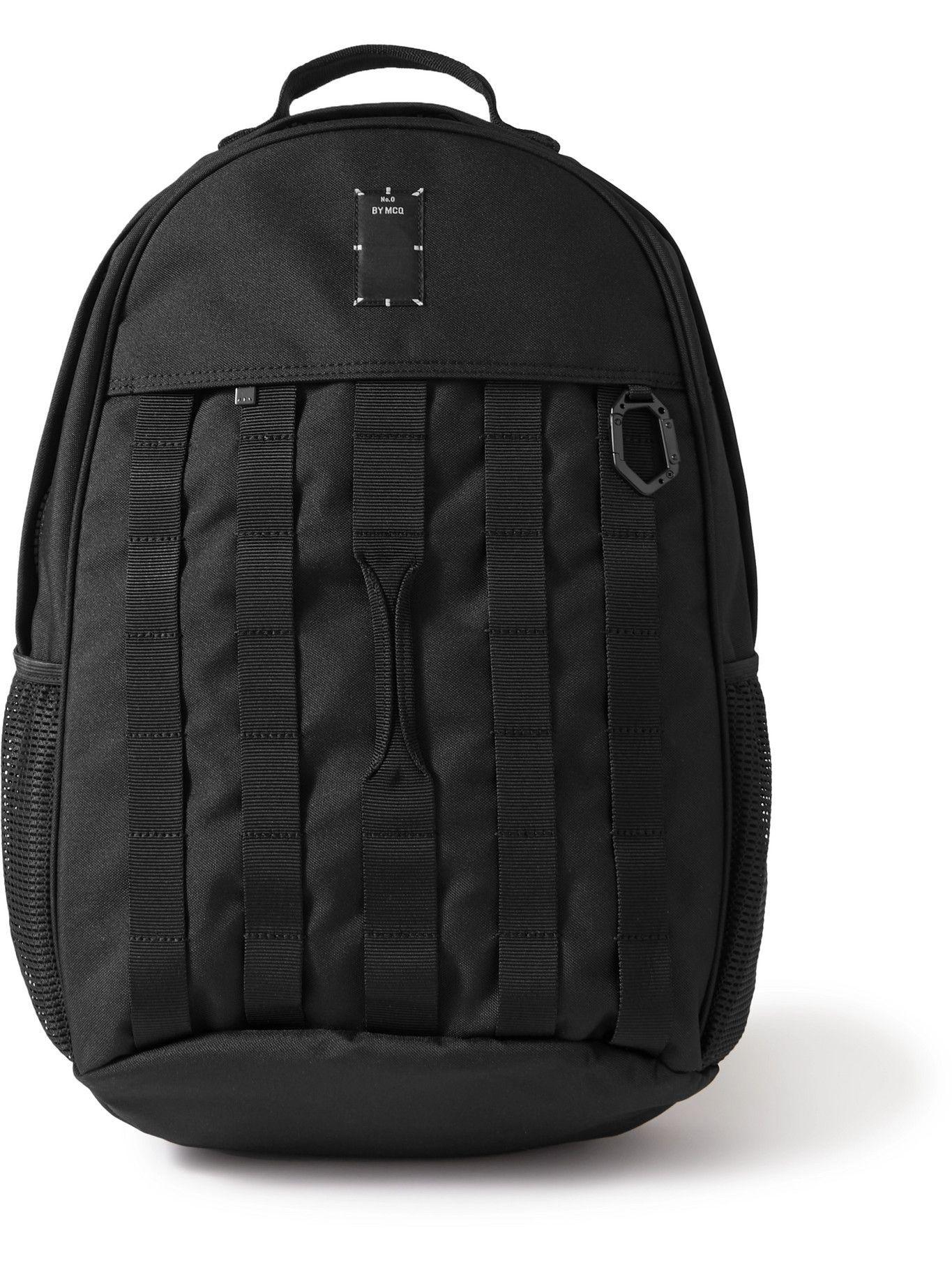 Photo: MCQ - Logo-Appliquéd Canvas Backpack