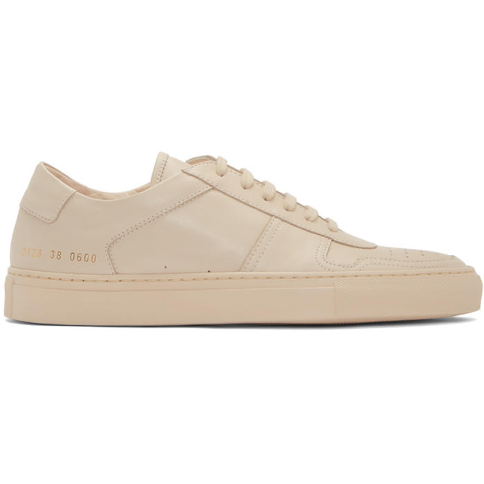 Common Projects Pink B-Ball Low Sneakers