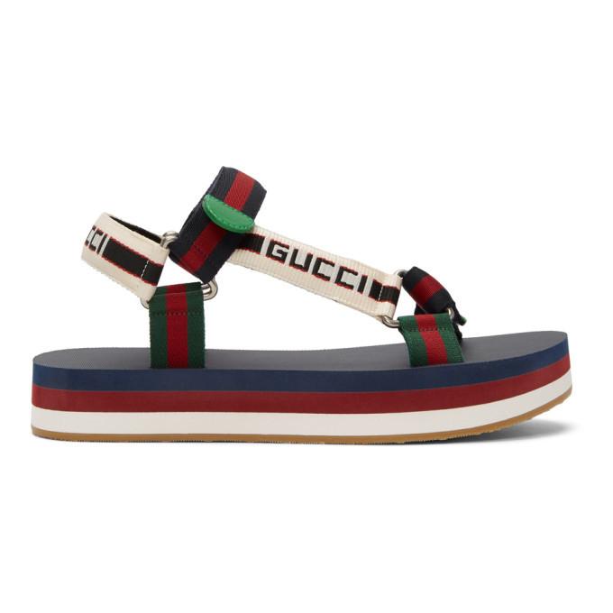 Photo: Gucci Multicolor Bedlam Sandals