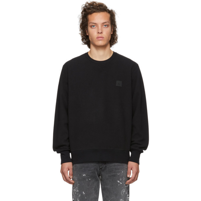 Photo: rag and bone Black Melton Fleece Sweatshirt