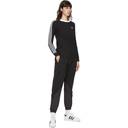 adidas Originals Black Big Trefoil Polar Fleece Lounge Pants
