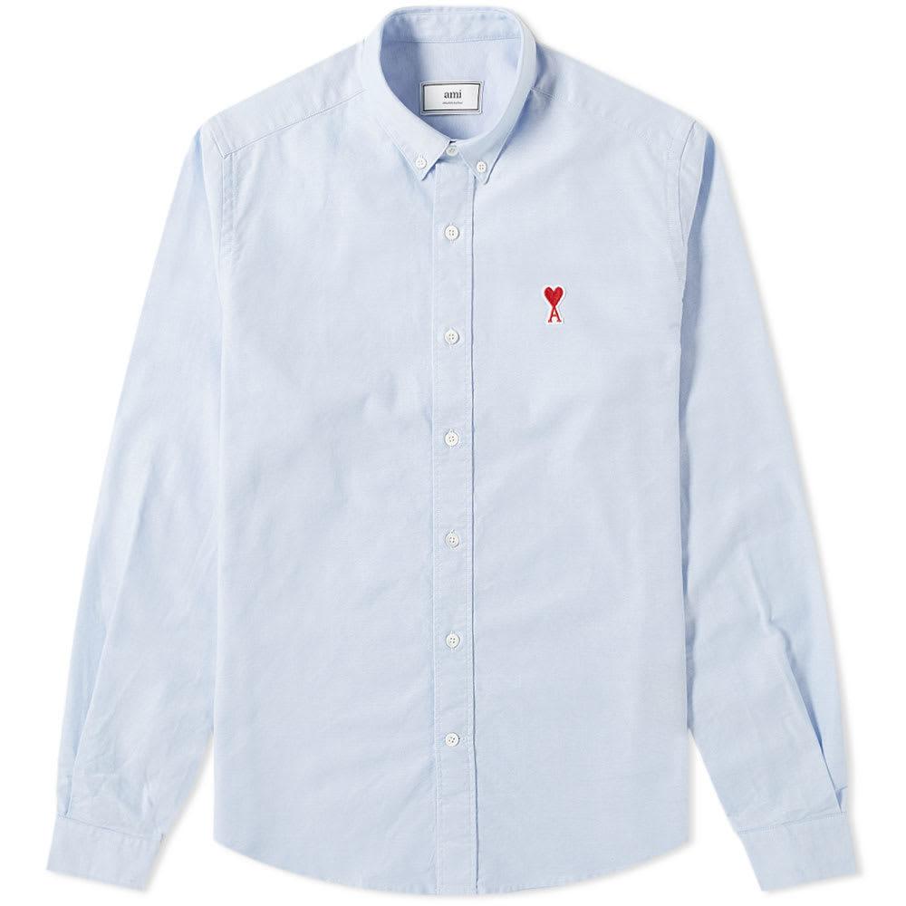 Photo: AMI Heart Logo Oxford Shirt