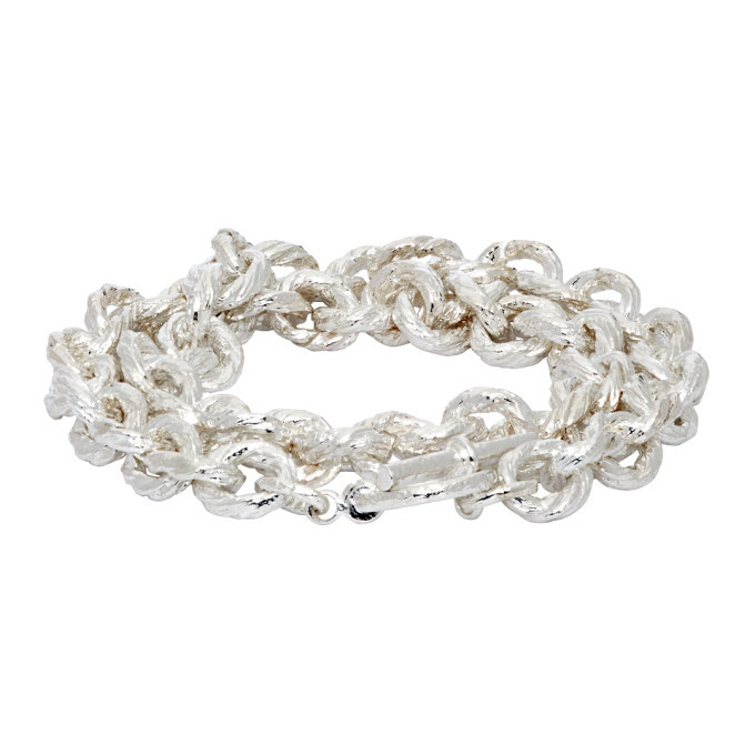 Photo: Pearls Before Swine Silver Rope Chain Bracelet