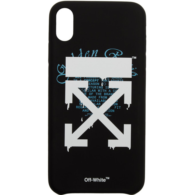 Photo: Off-White Black Dripping Arrows iPhone XR Max Case