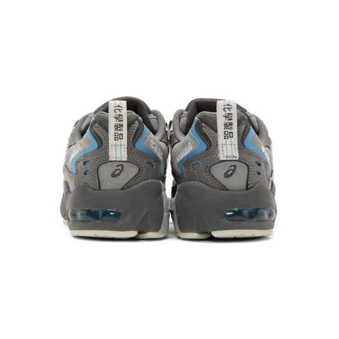 Asics Grey and Blue Chemist Creations Edition Gel-Kayano 5 OG Sneakers
