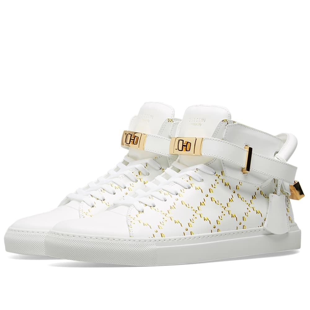 Photo: Buscemi Monogram 100mm Sneaker