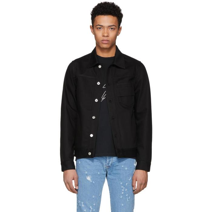 Photo: Givenchy Black Denim Jacket