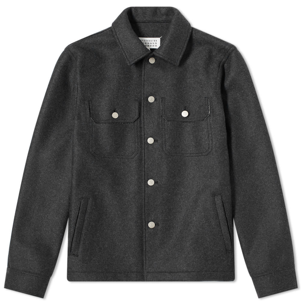 Photo: Maison Margiela 10 Wool Trucker Jacket