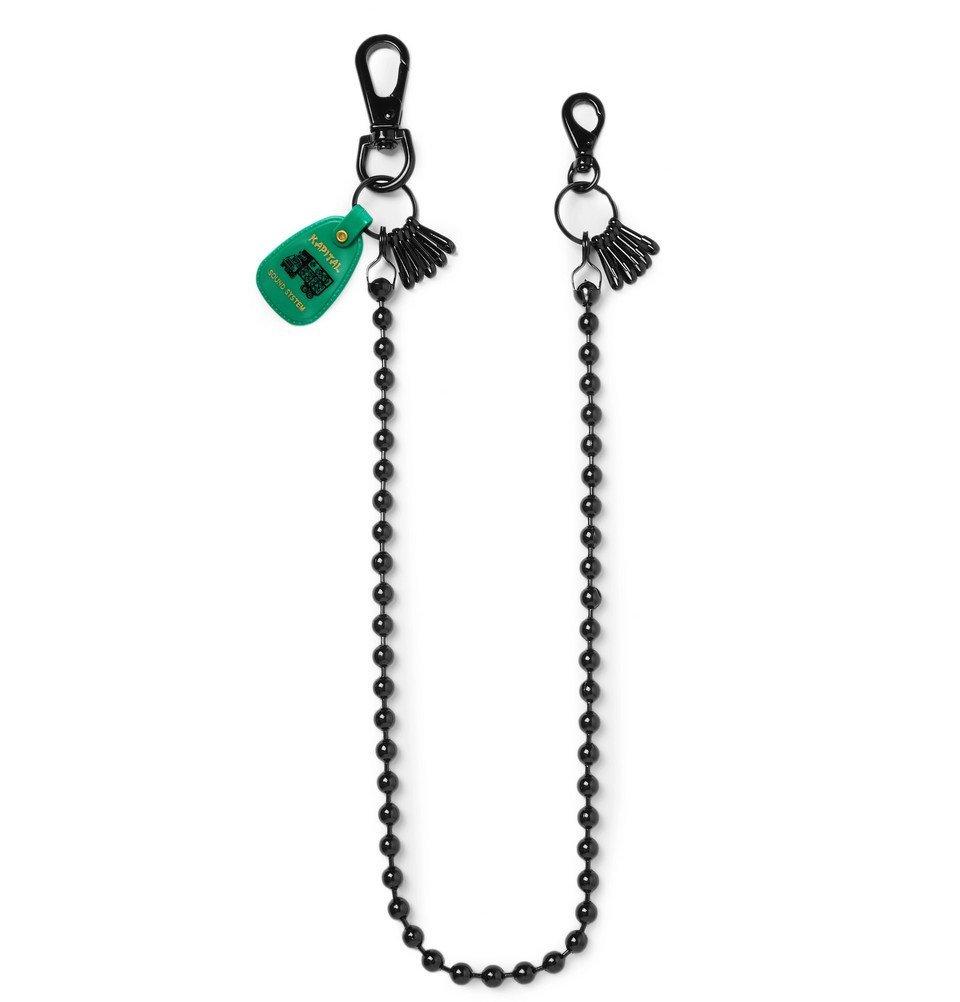 KAPITAL - Embellished Metal Safety Chain - Black