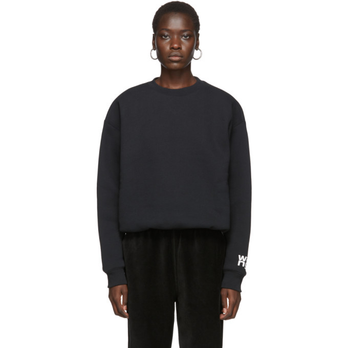 Photo: alexanderwang.t Black Fleece Bubble Sweatshirt