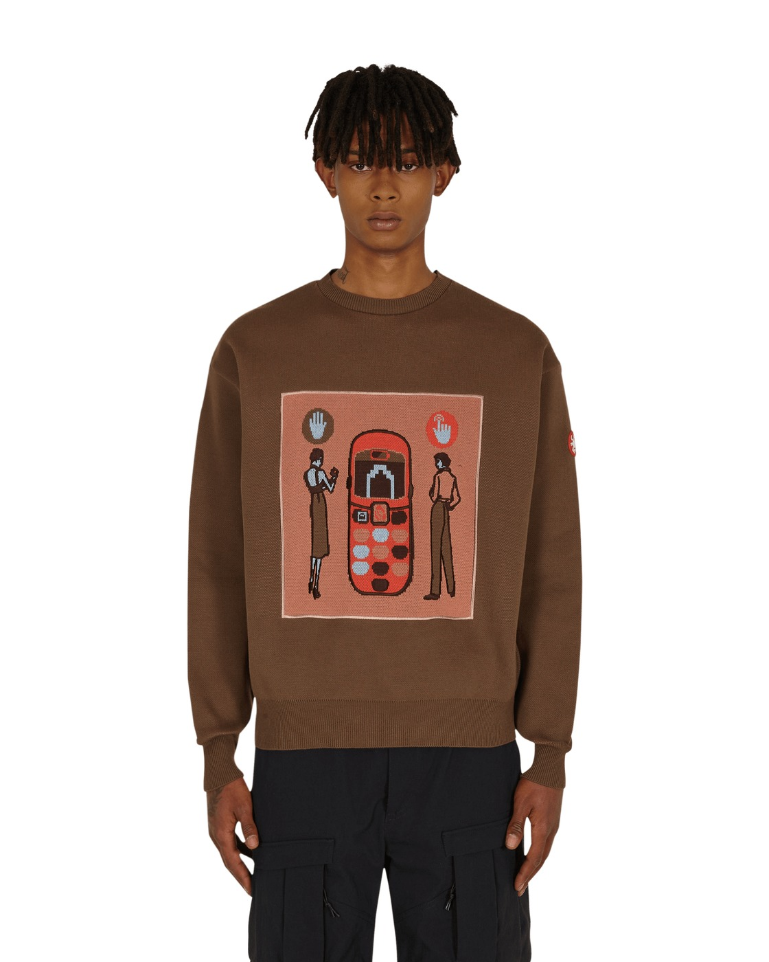 Photo: Cav Empt Back View Knit #2 Sweater Brown
