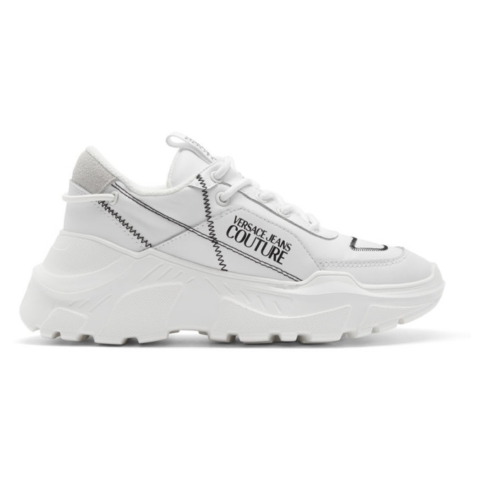 Photo: Versace Jeans Couture White Chunky Sneakers