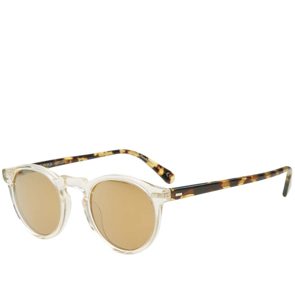 Oliver Peoples Gregory Peck Sunglasses Neutrals
