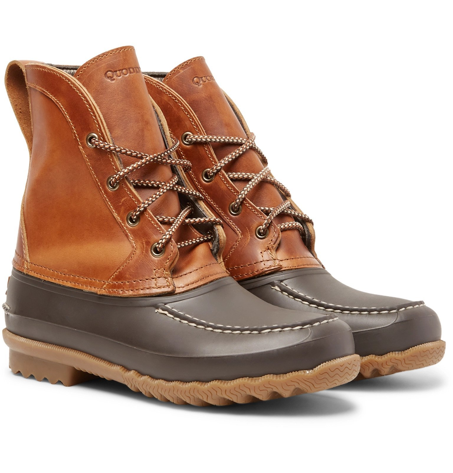Photo: Quoddy - Field Waterproof Leather and EVA Boots - Brown