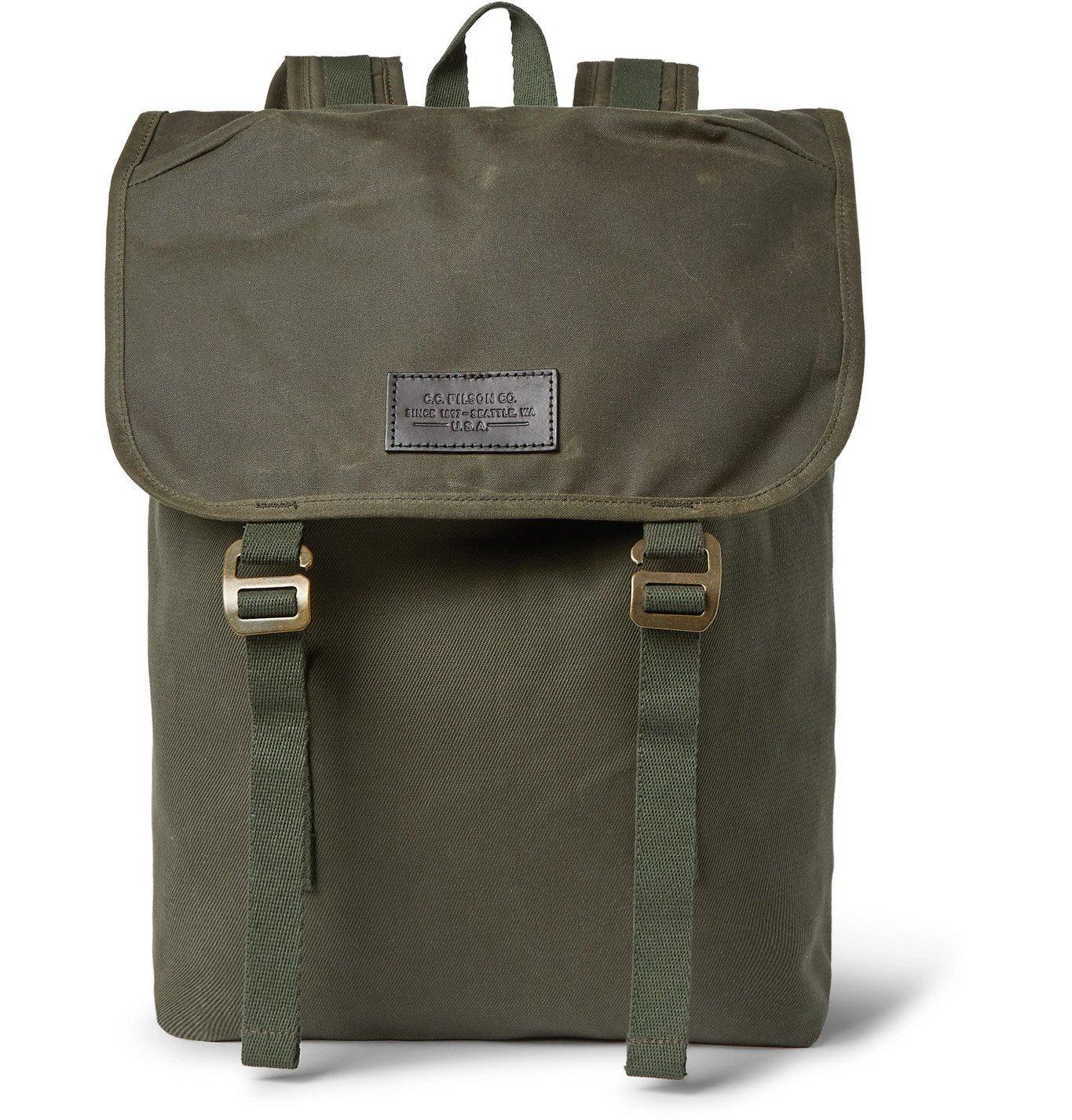 Filson - Ranger Twill Backpack - Green