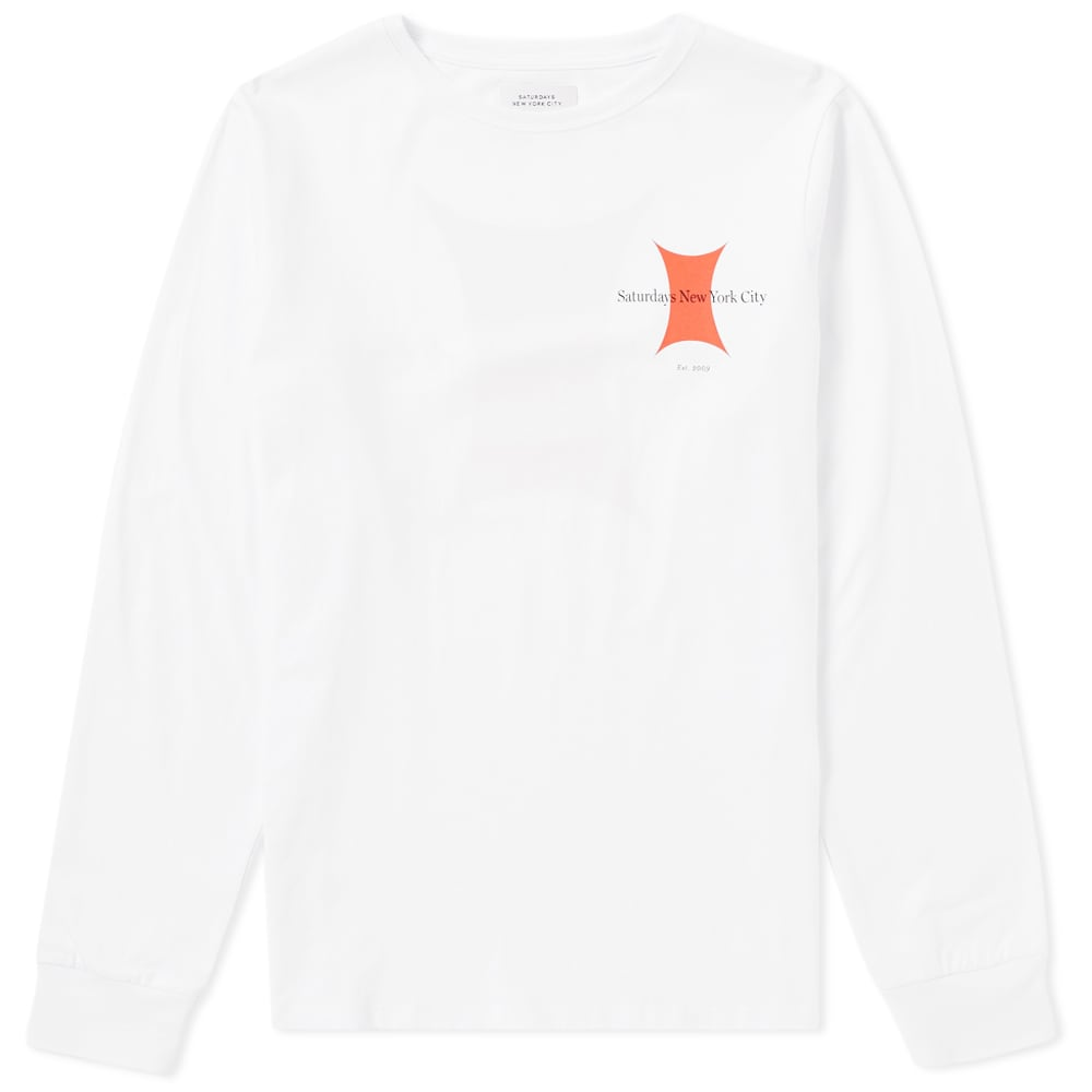 Photo: Saturdays Long Sleeve Super Ellipse Tee
