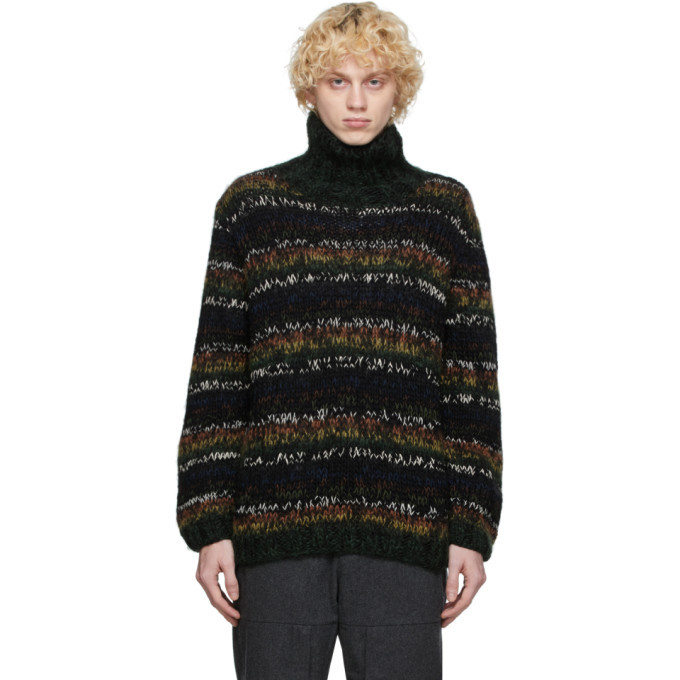 Photo: Wood Wood Multicolor Per Turtleneck