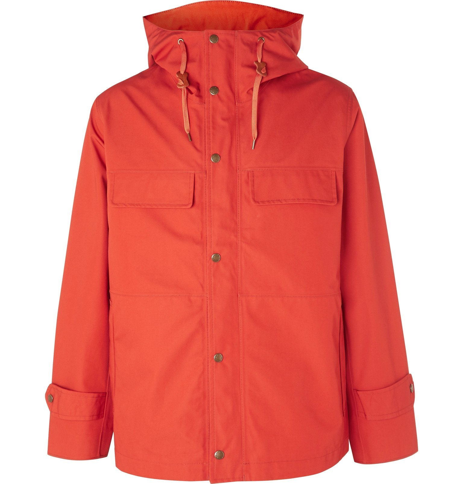 Photo: nanamica - Cruiser GORE-TEX Hooded Jacket - Orange