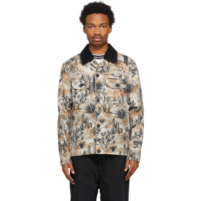 Photo: Acne Studios Beige Workwear Jacket