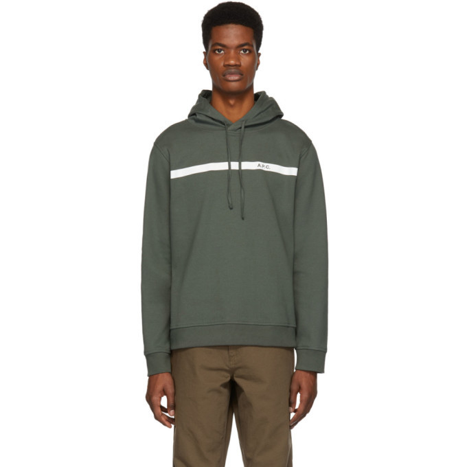 Photo: A.P.C. Green Caserne Hoodie