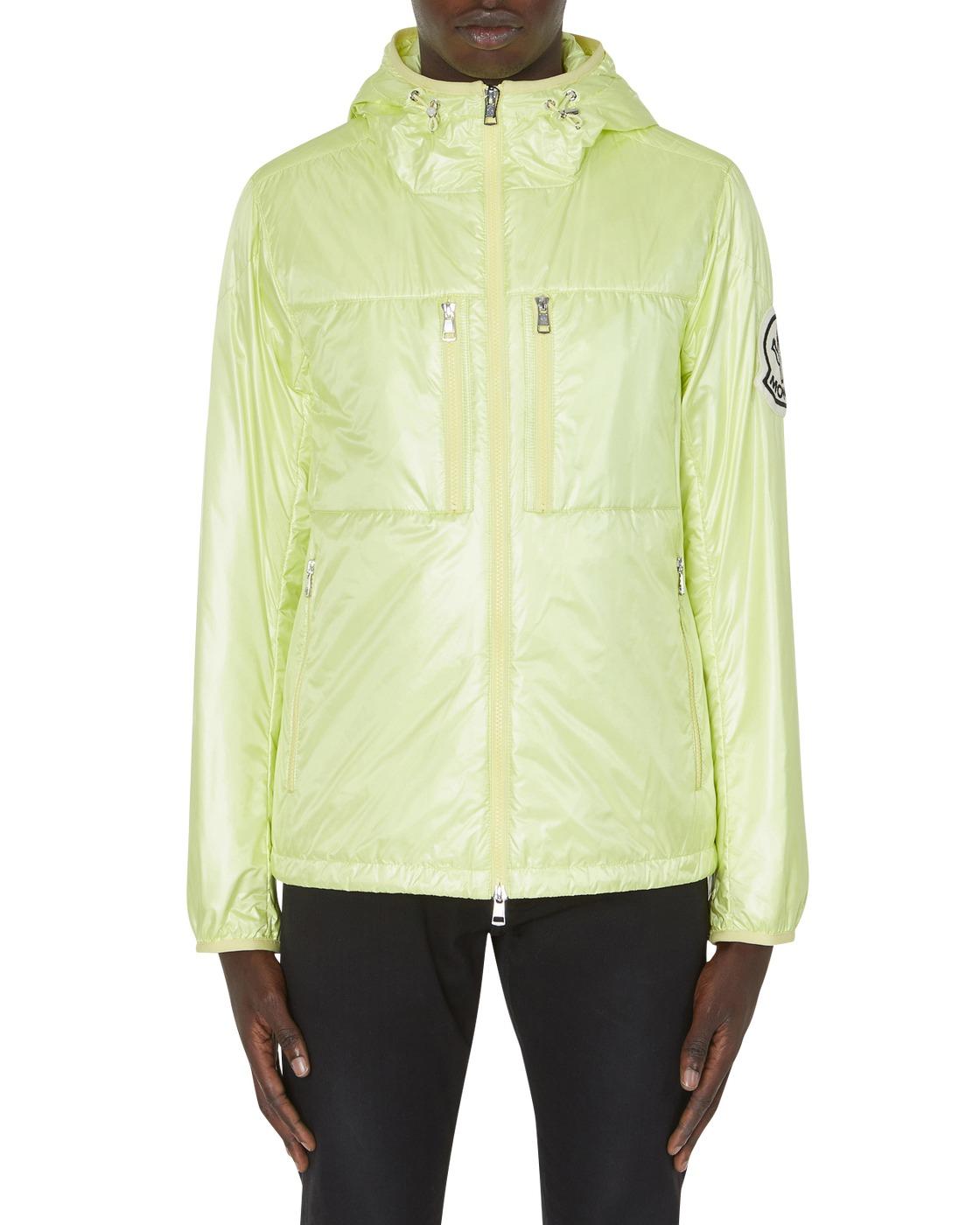 Photo: Moncler Genius Moncler Grenoble Lanford Jacket Lime Green