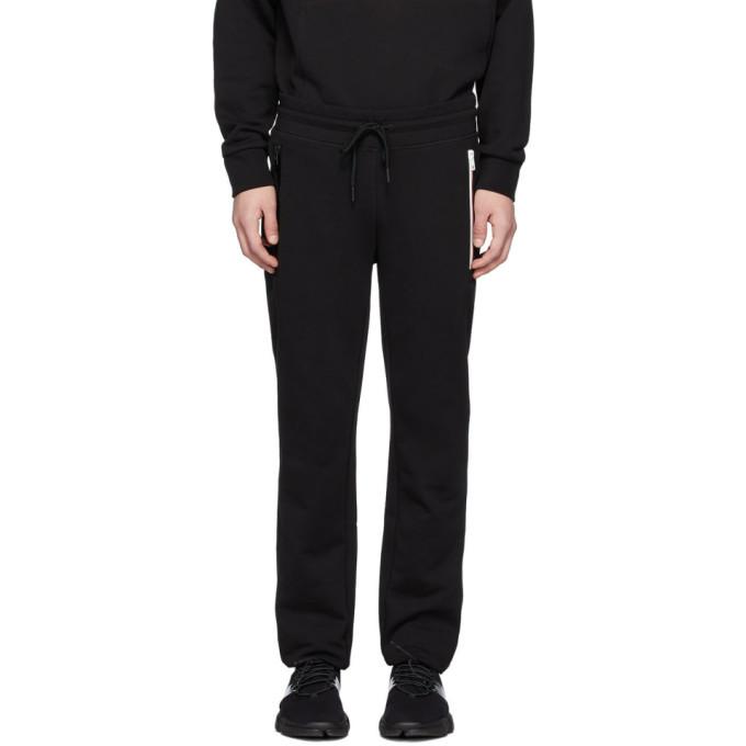 Photo: Moncler Black Cotton Lounge Pants