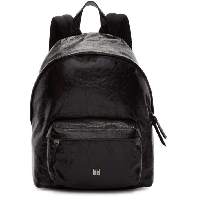 Photo: Givenchy Black Vintage 4G Backpack