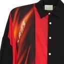 Aries Deconstructed Hawaiian Shirt Black