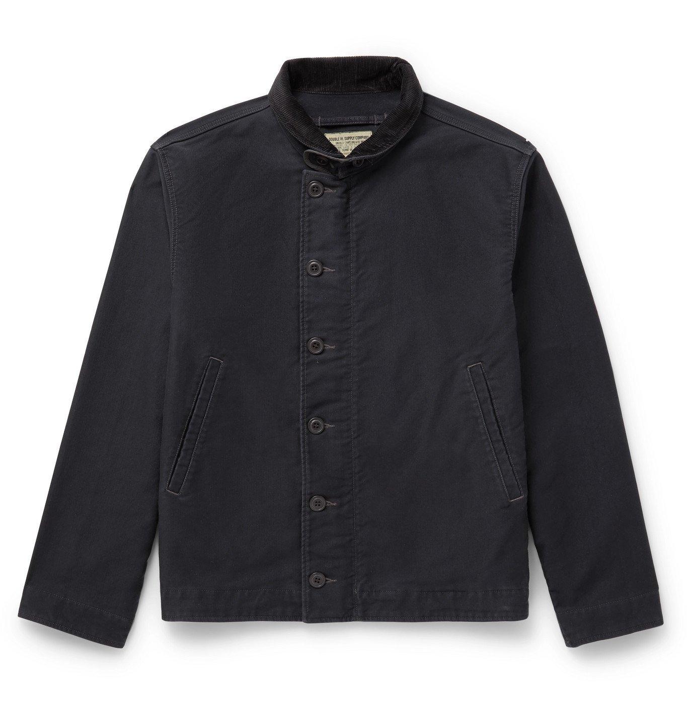 RRL - Bower Deck Cotton-Corduroy Jacket - Blue