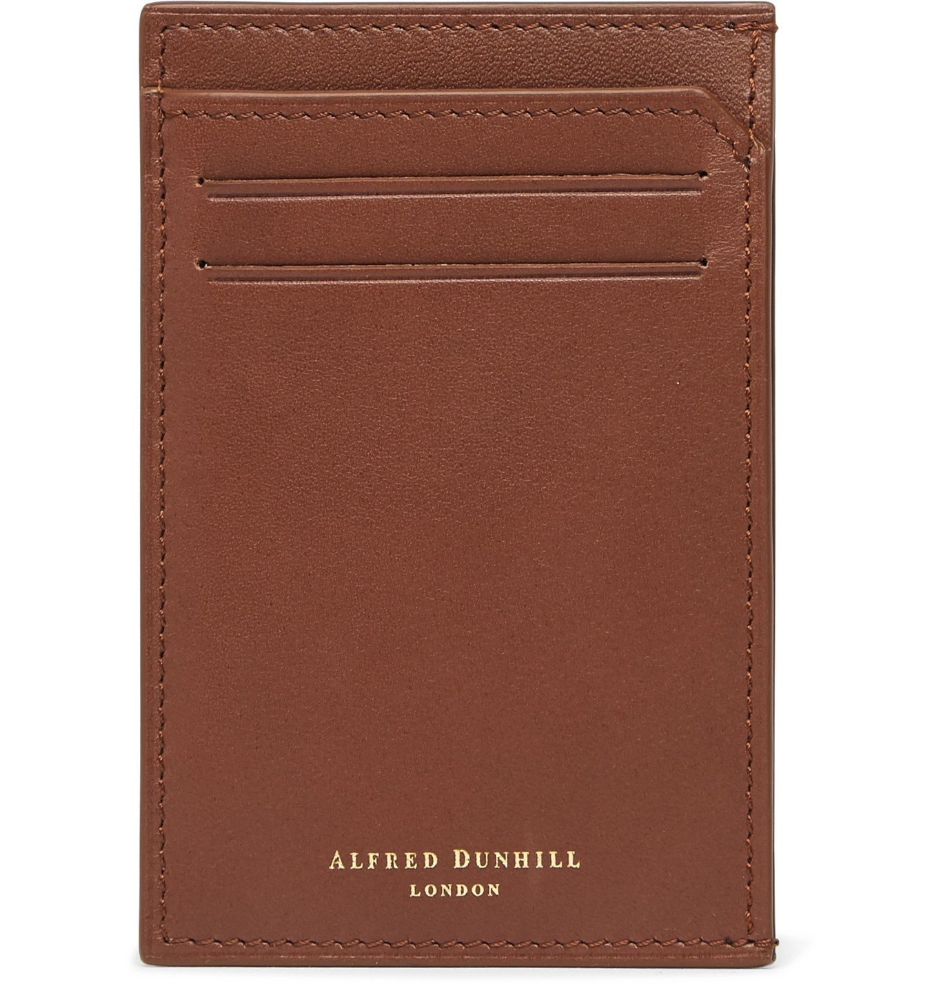 Photo: Dunhill - Leather Cardholder - Brown