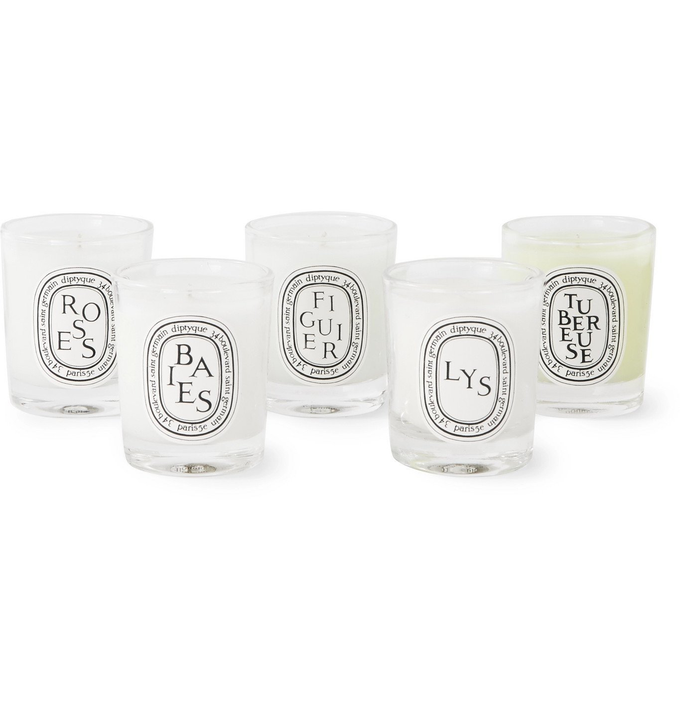 Diptyque   Miniature Scented Candle Set, 20 x 320g   Colorless Diptyque