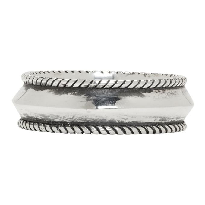 Photo: Ugo Cacciatori Silver Round Band Ring