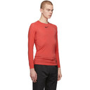 1017 ALYX 9SM Red Nike Edition Long Sleeve T-Shirt