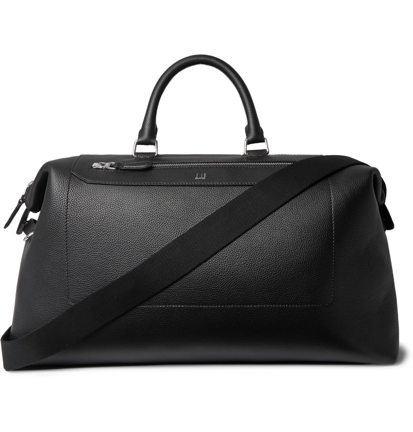 Photo: Dunhill - Belgrave Full-Grain Leather Holdall - Black