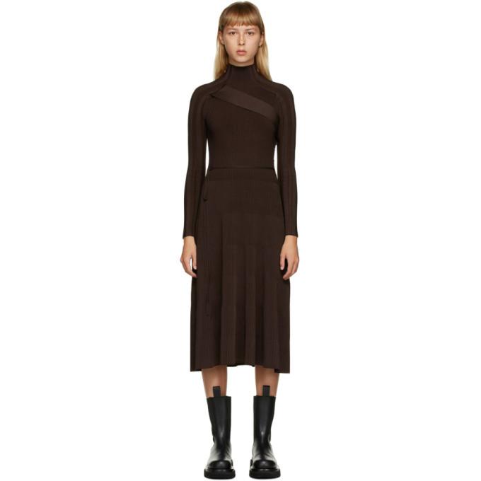 Photo: Peter Do Brown Seatbelt Dress