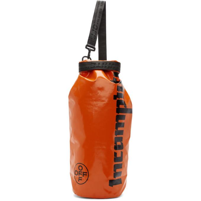 Photo: Off-White Orange Rolltop Incompiuto Bag